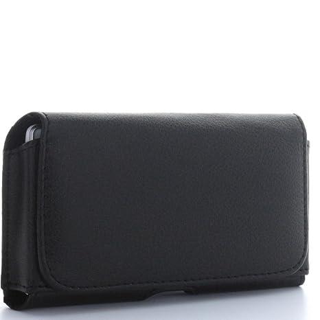 002538351e93b XiRRiX Housse horizontale pour téléphone smartphone avec clip et attache  ceinture Quer 2XL