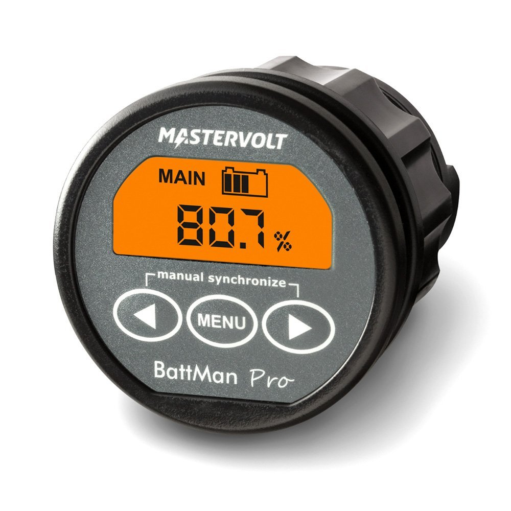 Mastervolt Battman Pro - Controlador de batería (12 V, 24 V, incluye derivador de 500 A)