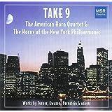 Take 9 - Works by Bernstein, Brahms, Desmond, Ewazen, Gershwin and Turner for Horn Ensemble