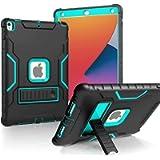 BMOUO iPad 8th Generation Case,iPad 7th Generation Case,iPad 10.2 Case, Built-in Screen Protector, Heavy Duty Rugged…
