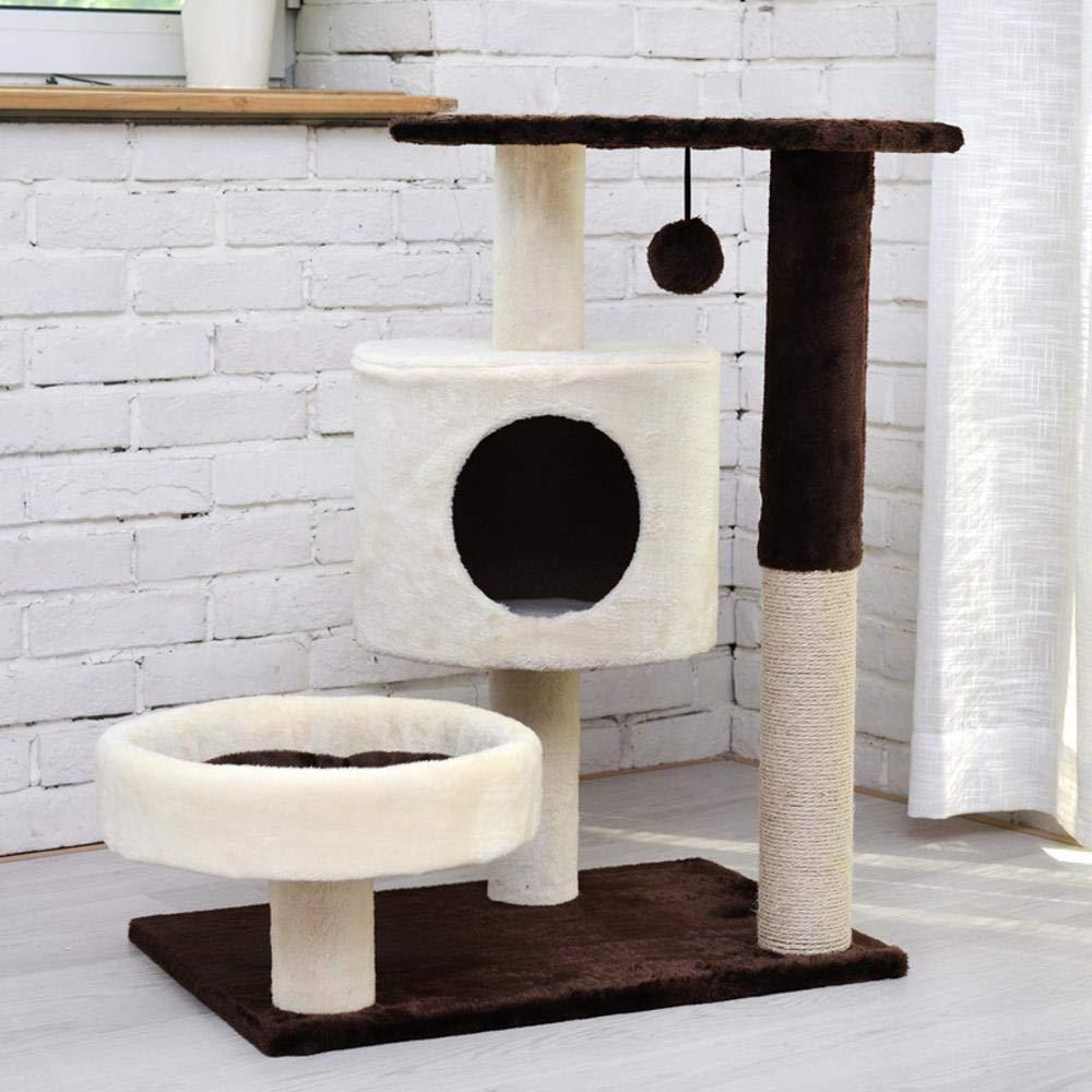 Ludage Animale domestico Salita cornice gatto nido gatto albero sisal gatto grab stud gatto salto cm 40  60  75cm