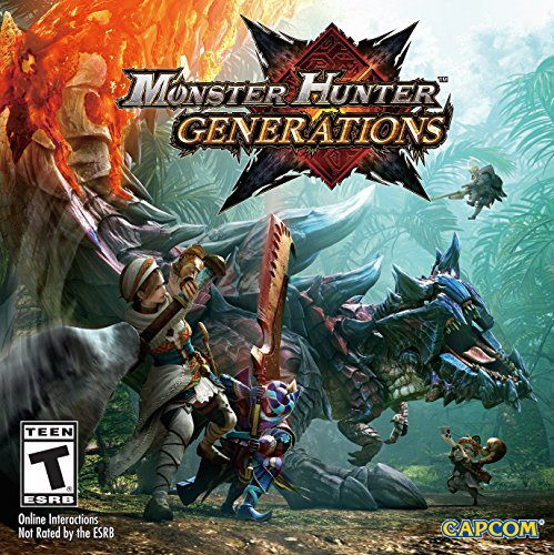 Monster Hunter Generations - 3DS [Digital Code]