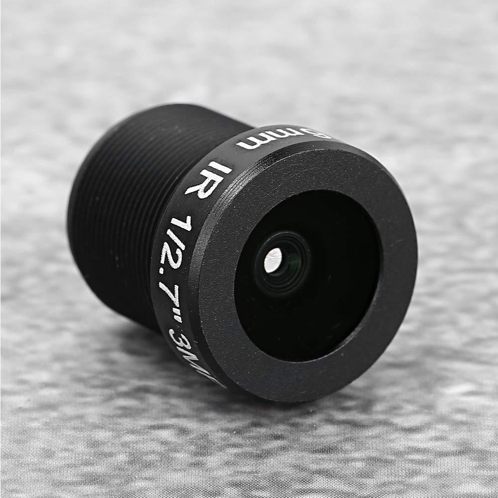 3MP HD Lente de C/ámara con Longitud Focal de 3.6 mm Gran Angular para C/ámaras de Seguridad CCTV de Vigilancia