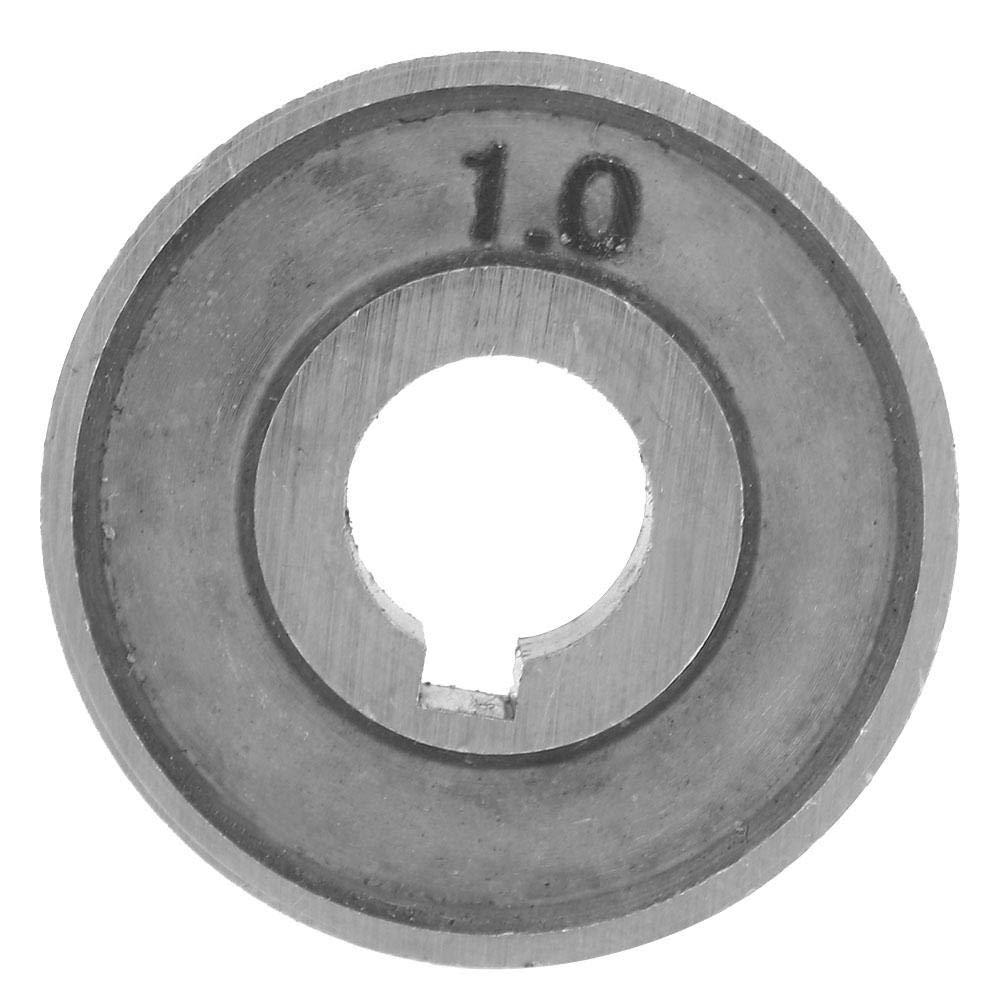 0,8-1,0 mm Zerone SSJ-29A Drahtvorschubrolle 30 /× 10 /× 10 mm 0,8-1,0 mm oder 1,2 mm oder 1,4 mm oder 1,6 mm Schwei/ßdrahtvorschubf/ührungsrad
