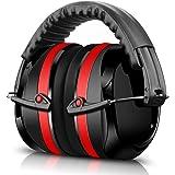 ECHTPower Kapselgehörschutz, Gehörschutz für Kinder und Erwachsene, 34dB Höchste NRR Kopfbügel Sicherheit Ohrenschutz Hörschutz Safety EAR Muffs mit Weichschaum, Geeignet für Schiessen, SNR 35dB bei sehr hohen Lautstärken