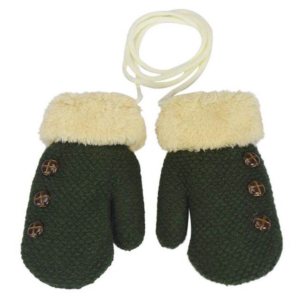 Fami Winter Lovely Baby Boy /& Girl garder au chaud en tricot Mitaines