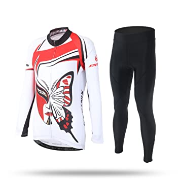 f8100afa3 Autumn Winter Cycling Clothing Sets Long Jersey And Pans For Women  Breathable Lightweight Wind Proof Racing Suits For Bicycling