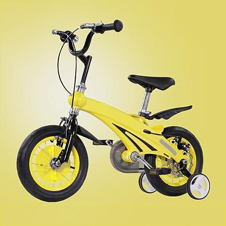 ZCRFY Bicicleta para Niños Niñas Bicicletas Infantiles Estudiante ...