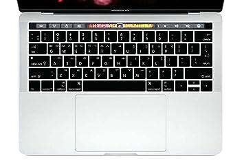 Amazon.com: HRH - Carcasa de silicona para MacBook Pro Air ...