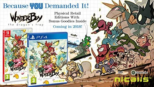 Merge Games Wonder Boy: The Dragon's Trap (Nintendo Switch