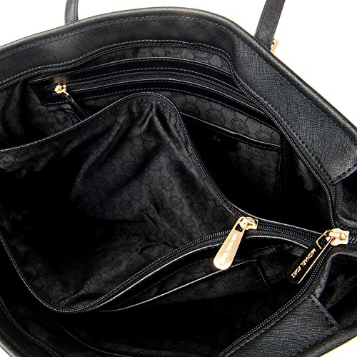 Michael Kors Borsa Shopping Donna 30T5GTVT2L001 Pelle Nero