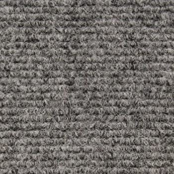 Genial Indoor/Outdoor Carpet With Rubber Marine Backing   Gray 6u0027 X 15u0027