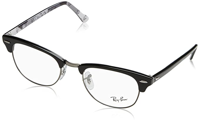 ec378ef234 Amazon.com  Ray-Ban Clubmaster No Polarization Square Prescription ...