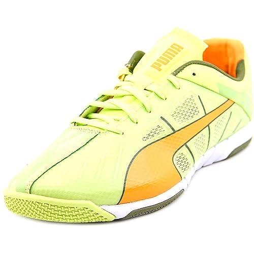 28e317cb2537 PUMA Neon Lite 2.0 Green Orange Olive White Womens 9