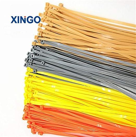 2000 BLACK NYLON CABLE TIES 300MM x 4.8MM HIGH QUALITY PLASTIC NYLON ZIP TIES