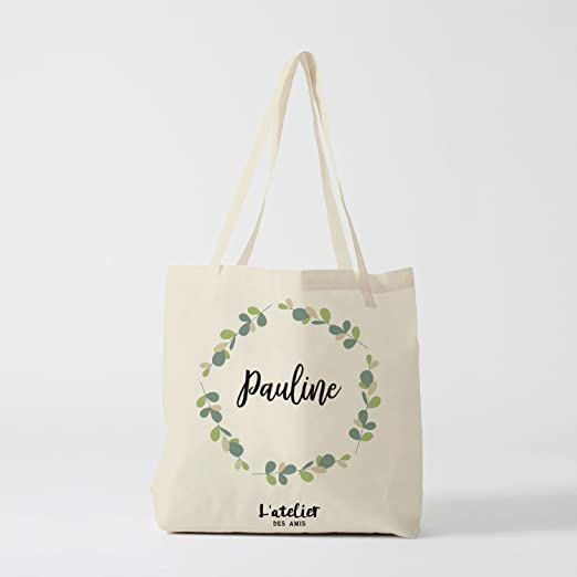 DKISEE Nanny - Bolsa de compras reutilizable de algodón y lino ...