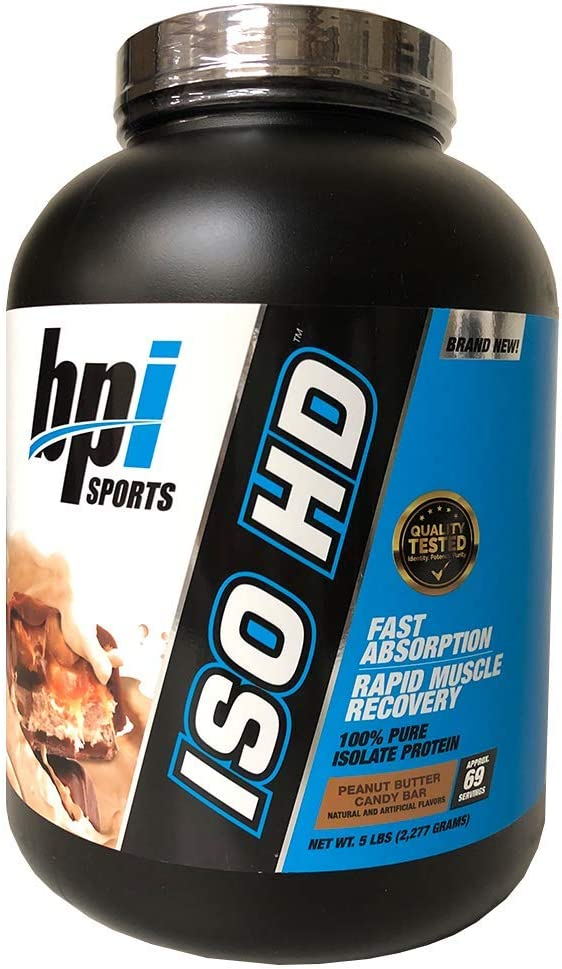Bpi Sports Iso-hd (5lbs) 2270 g 1 Unidad