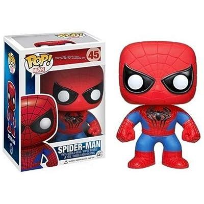 Funko POP Marvel: Amazing Spiderman Movie 2 - Spiderman Action Figure: Toys & Games