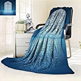 AmaPark Digital Printing Blanket Doors of Mosque Grace Faith Theme Islamic Eid Print White Summer Quilt Comforter