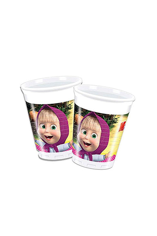 de 200/ml 8/unidades Procos 86513/-/Vasos de pl/ástico de /«Masha y el Oso/» multicolor