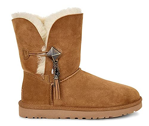 c7d44c5400b UGG Lilou Charm Suede Pull On Fastening Women's Comfort Boots (10 ...