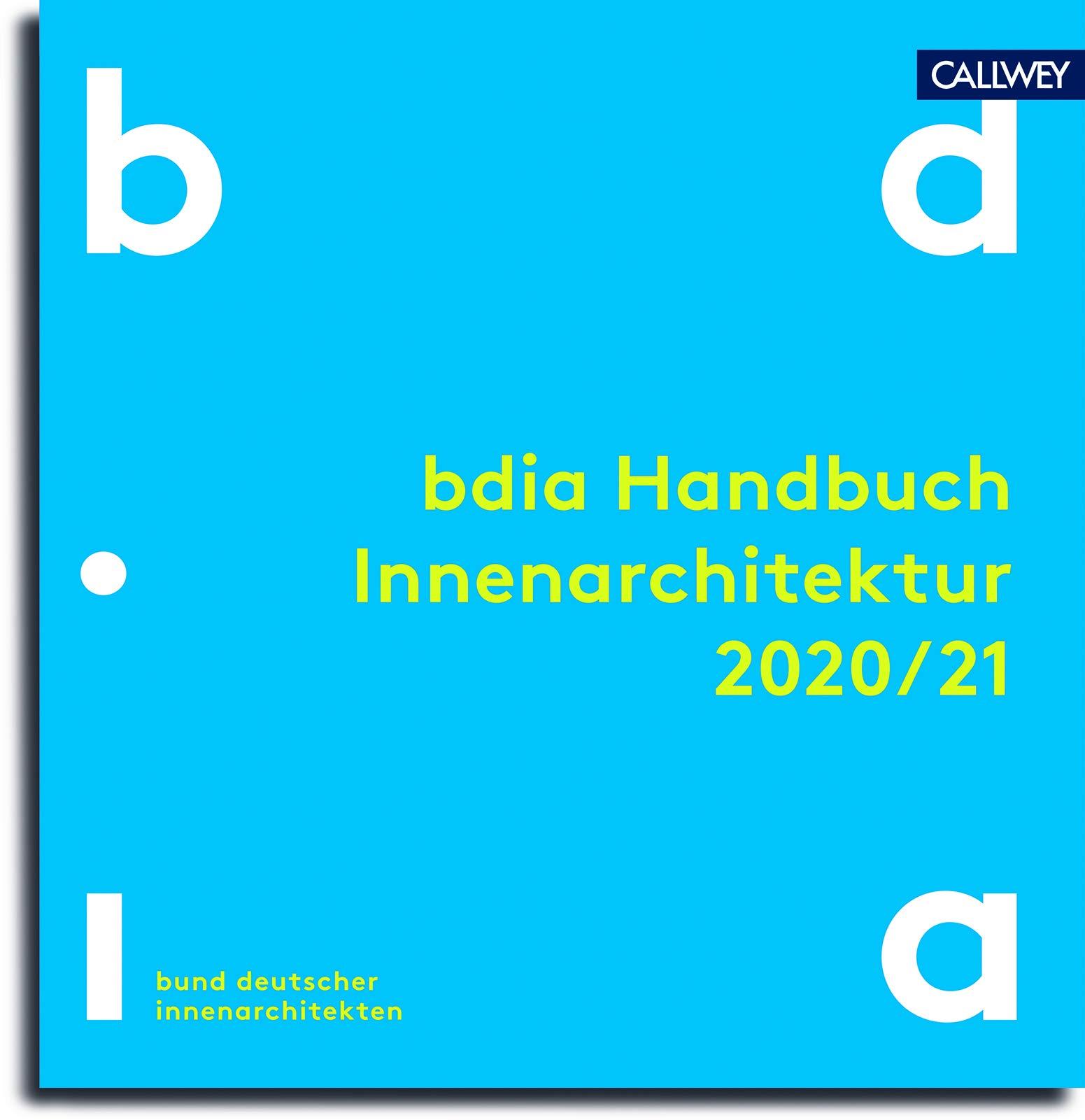 bdia Handbuch Innenarchitektur 21/21  bdia, bund deutscher ...