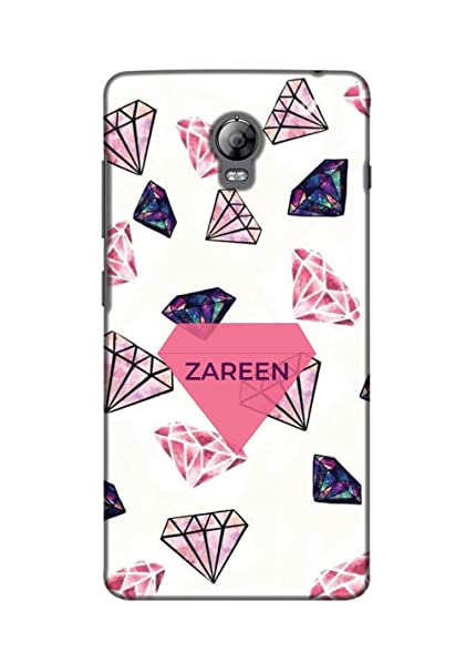 outlet store 10618 67fd9 Lenovo Vibe P1 Back Cover Name of Zareen: Amazon.in: Electronics