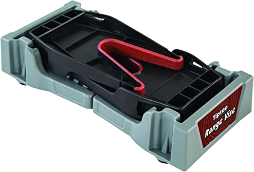 "Amazon.com : Tipton Compact Range Vise for Firearm Cleaning, Gunsmithing and Gun Maintenance, Black / Gray, 11-1/4 - 17-3/4"" : Sports & Outdoors"