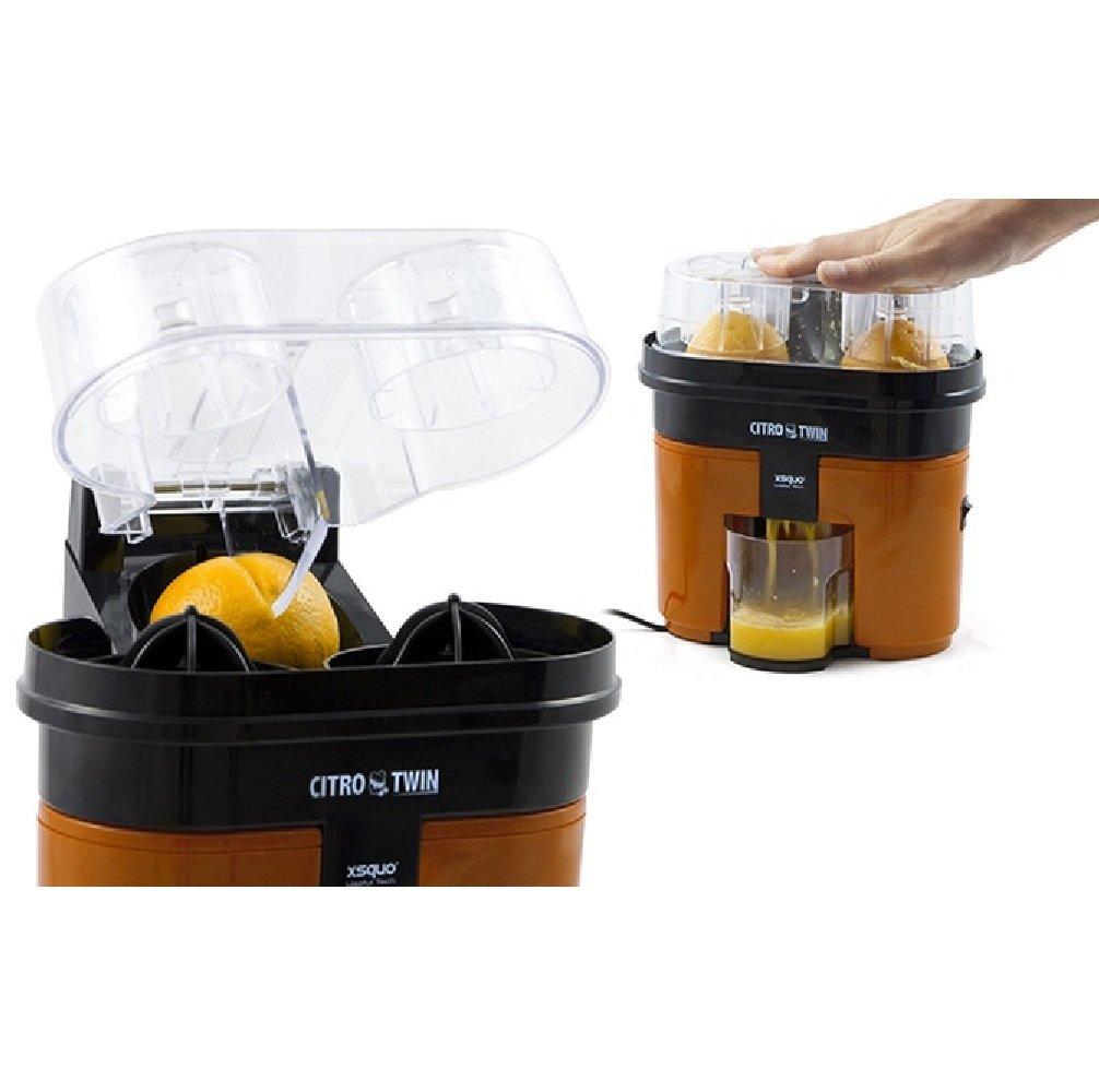 Top SHOP Citro Twin Licuadora Exprimidor Extractor de zumo 500 ml Color Naranja: Amazon.es: Hogar