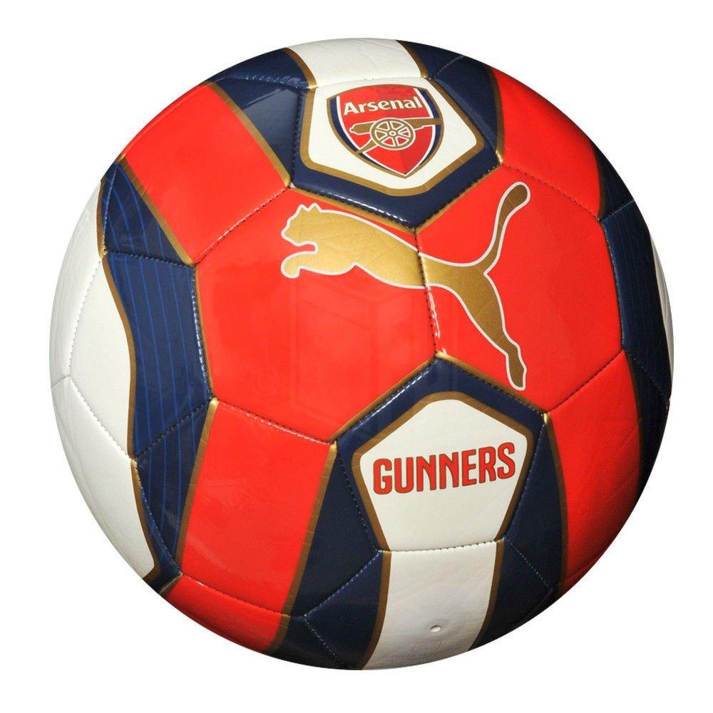 Puma Arsenal FCサッカーボールファン2014 – 2015新しいレッド/ホワイト/ネイビーサイズ5 B010HBNVJ8