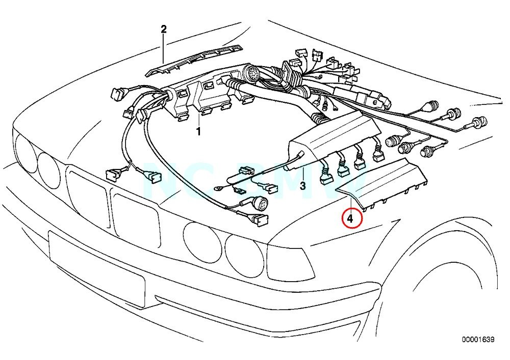 Amazon Com Bmw Genuine Covering Upper Left Automotive