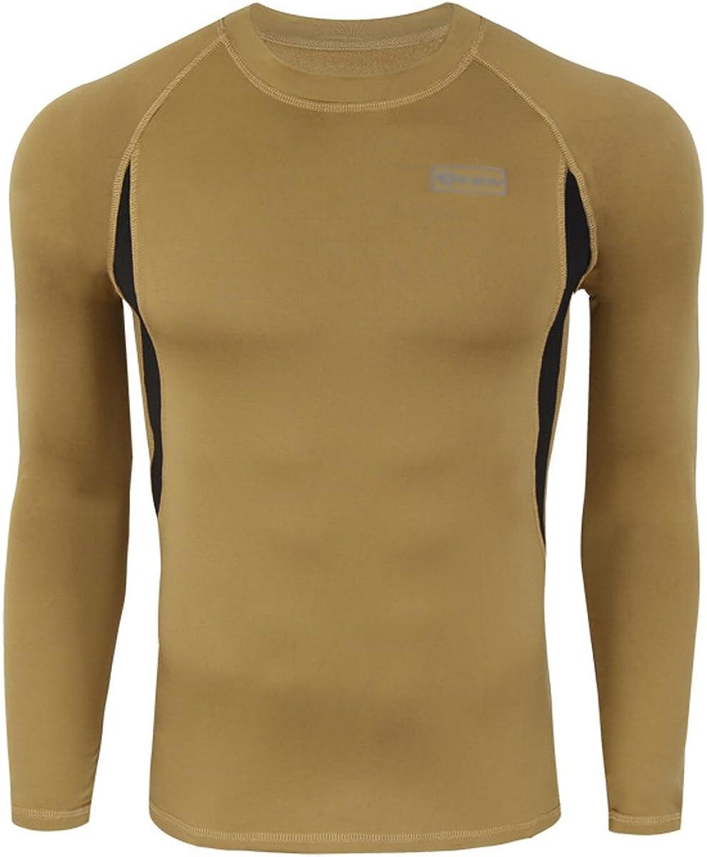 Men Thermal Underwear Set Sports Sweat Quick T-Shirt Vests Top /& Long Johns New