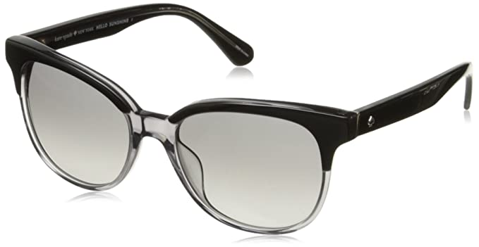 1587592233 Amazon.com  Kate Spade Women s Arlynn s Square Sunglasses Black Dark ...
