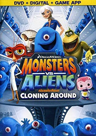 Amazon Com Monsters Vs Aliens Cloning Around Monsters Vs Aliens Cloning Around Movies Tv