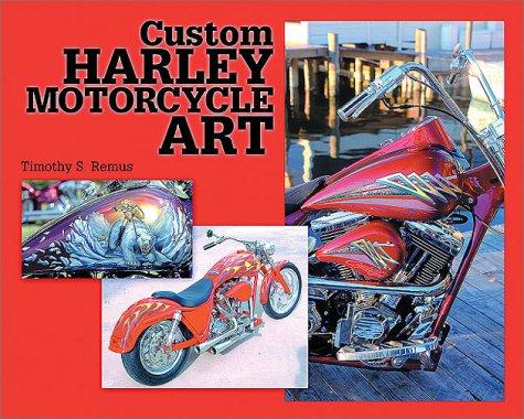 Custom Harley Motorcycle Art