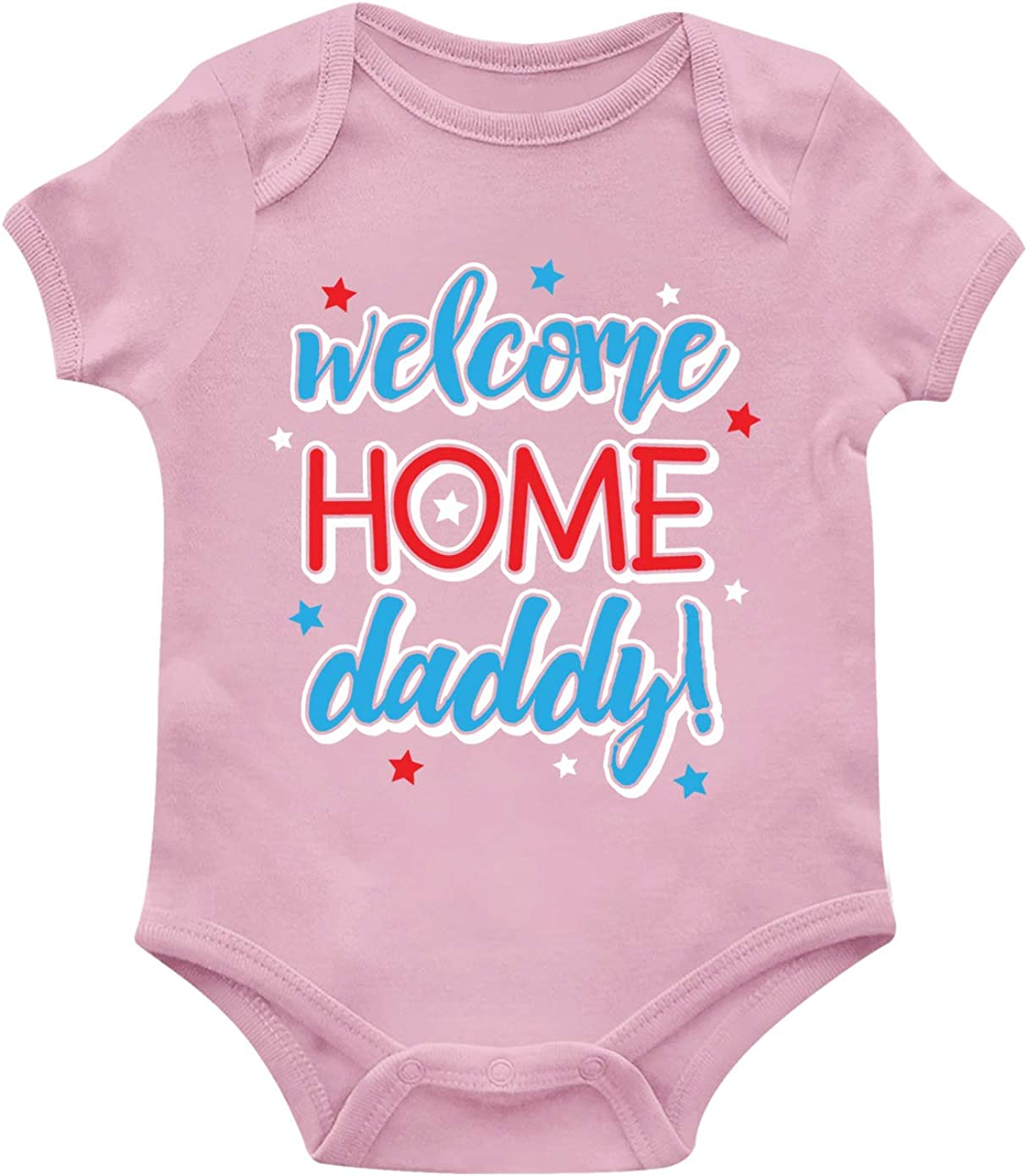 SpiritForged Apparel Welcome Home Daddy! Infant Bodysuit