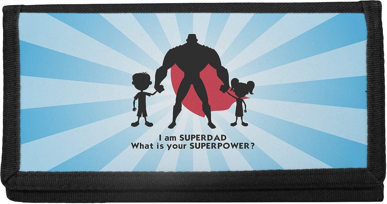 Super Dad Canvas Checkbook Cover