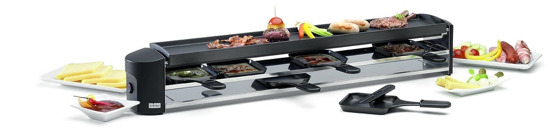 St/öckli Cheeseboard Six Raclette Grillger/ät 6 Portionen Raclettepf/ännchen antihaft antihaft versiegelte Grillplatte