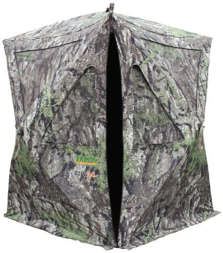 Primos Hunting The Club Ground Blind, Ground Swat Gray, XX-Large