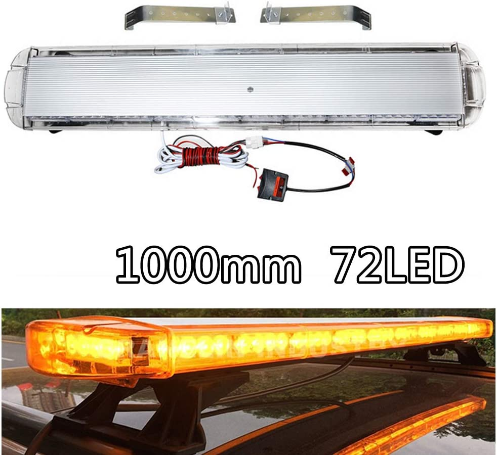 101,6/cm 72/LED luce bar Amber Strobe Beacon recovery-100/cm 1000/mm 1.0/metre