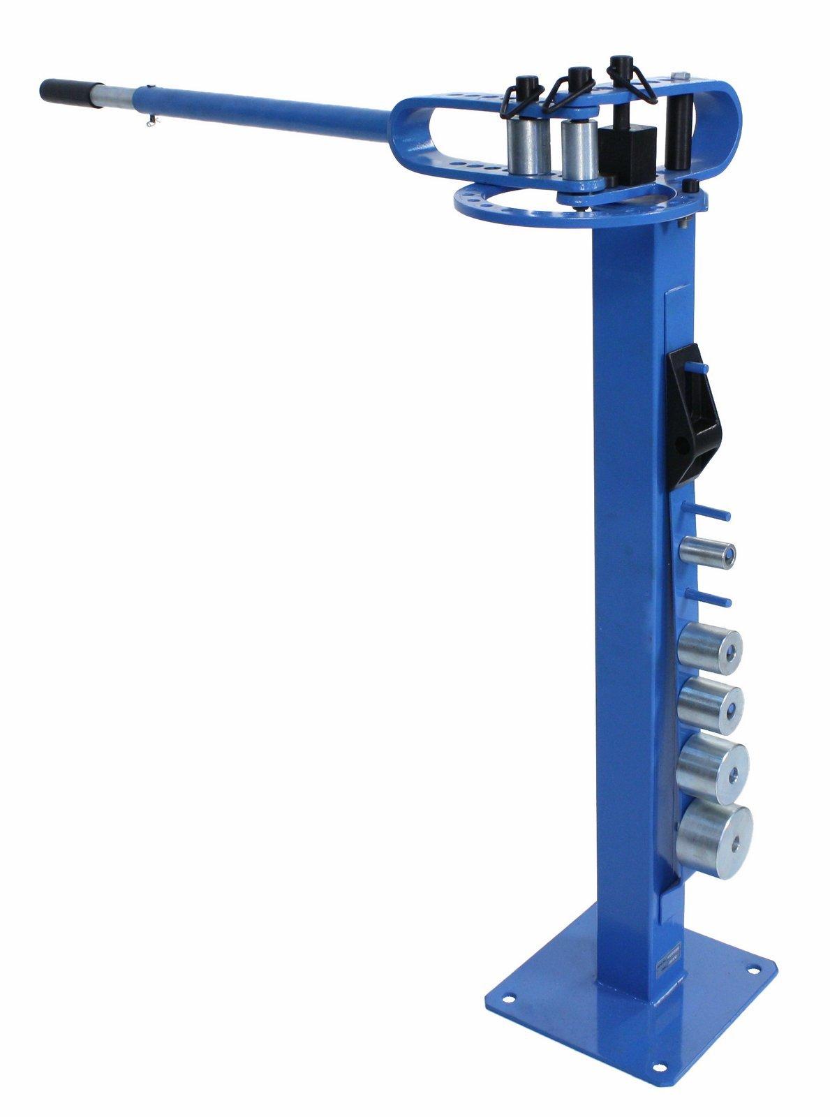 Erie Tools Pedestal Floor Compact Bender Bending Metal Fabrication Tube Pipe Rod 7 Dies by Unknown