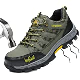 Jual JACKBAGGIO Men s Athletic Steel Toe Breathable Mesh Lightweight ... 11ed7be68