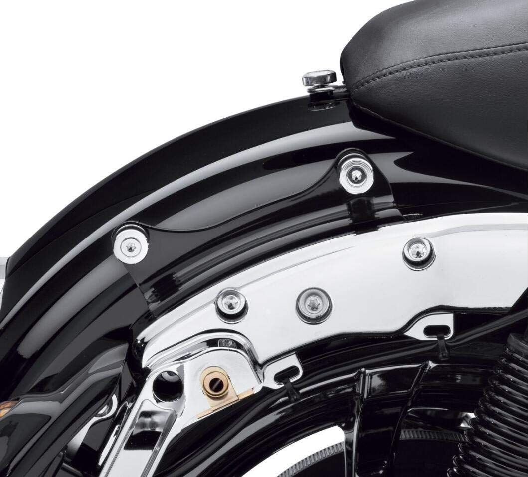 BBUT Black 4 Point Docking Hardware Kit for Harley Davidson Touring Road King Street Glide 2014 2015 2016 2017 2018 2019