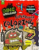 Dino Supersaurus Superpower Coloring
