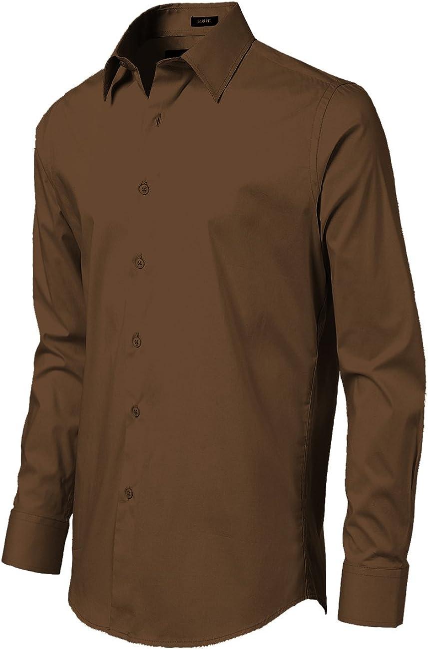 11 TrueM Herren Slim Fit Langarmshirt Gr