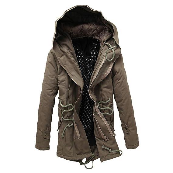 disponible rechercher l'original dans quelques jours Magiyard Manteau Long Homme Veste Gothique Homme Manteau ...