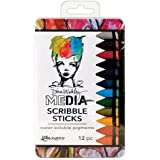Dina Wakley Media MDA60161 Scribble Stick, Multicolor