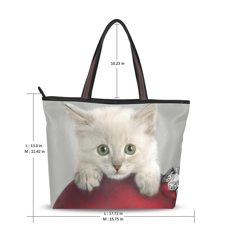Women's New Fashion Handbag Shoulder Bags 2016,Cute Cat ,Tote Bag