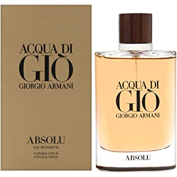 best selling Acqua di Giò Absolu