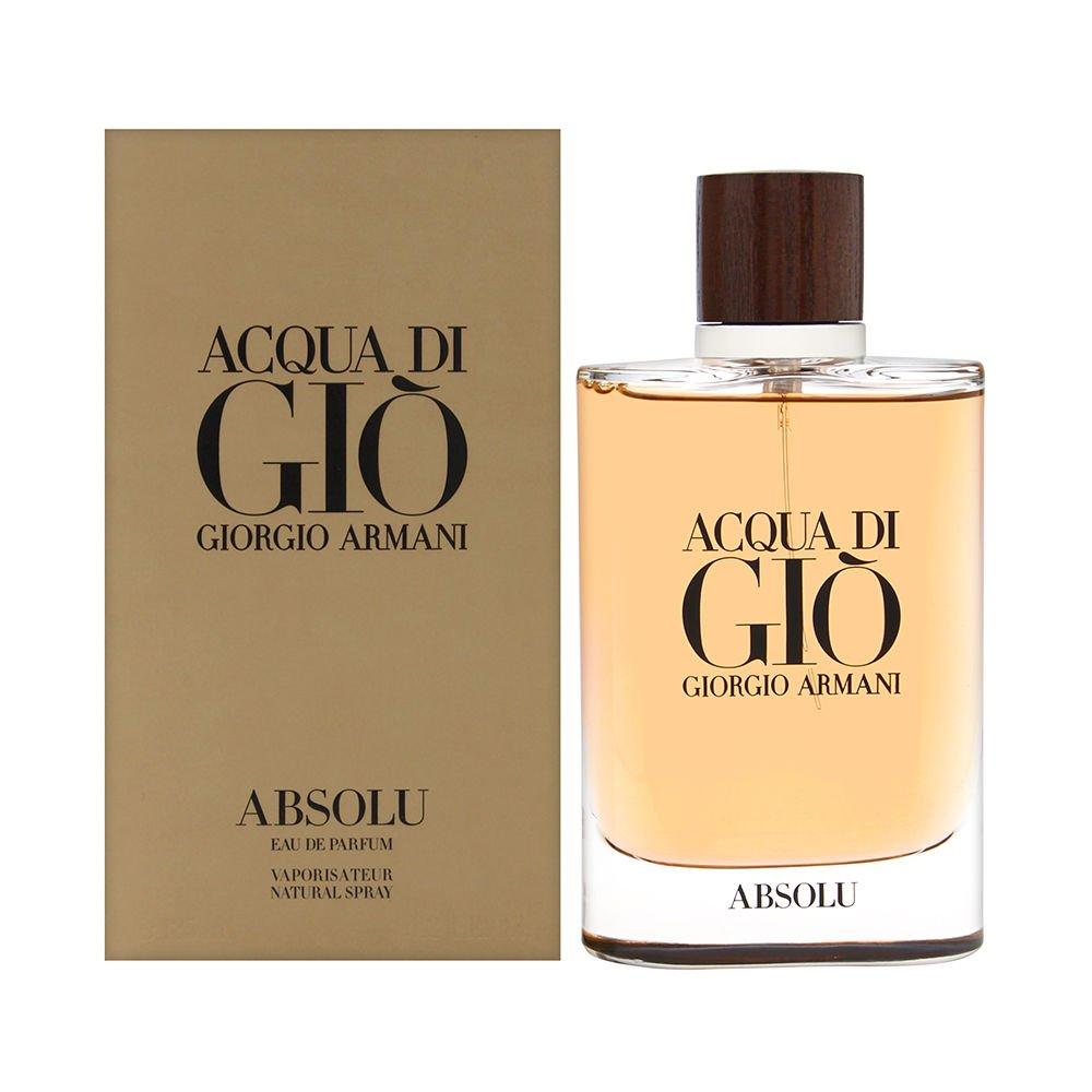 Acqua di Giò Absolu Eau de Parfum Spray, Men, 4.2 Fluid Ounce by GIORGIO ARMANI